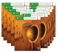 Lifepac History & Geography Workbook Set, Grade 1 - Product Image