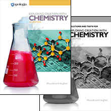 Exploring Creation with Chemistry 2-Book Set (3rd Edition) - Product Image