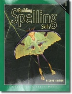 Christian Liberty Press Building Spelling Skills Book 1 - Product Image