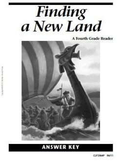 Christian Liberty Press Finding a New Land Answer Key - Product Image