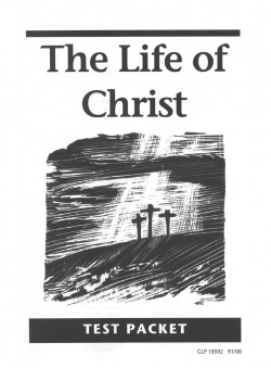 Christian Liberty Press Life of Christ Tests - Product Image