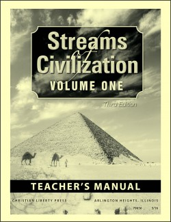 Christian Liberty Press Streams of Civilization, Vol. 1 Teacher's Guide - Product Image