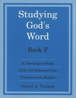 Christian Liberty Press Studying God's Word Book F - Product Image