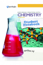Exploring Creation with Chemistry 3rd Edition, Student Notebook - Product Image