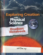 Exploring Creation with Physical Science - Second Edition, Student Notebook - Product Image
