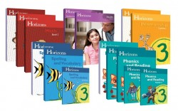 Horizons 3rd Grade Complete Set (Set Includes: Math, Phonics & Reading, Health, Penmanship, Spelling) - Product Image