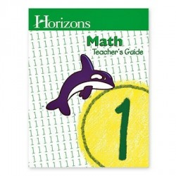 Horizons 1st Grade Math Teacher's Guide - Product Image