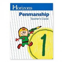 Horizons 1st Grade Penmanship Teacher's Guide - Product Image