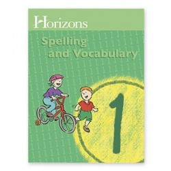 Horizons 1st Grade Spelling and Vocabulary Student Book - Product Image