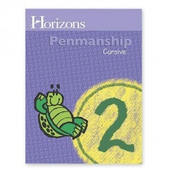 Horizons 2nd Grade Penmanship Student Book - Product Image