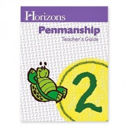 Horizons 2nd Grade Penmanship Teacher's Guide - Product Image