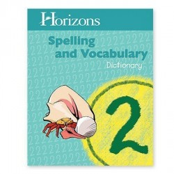 Horizons 2nd Grade Spelling and Vocabulary Dictionary - Product Image