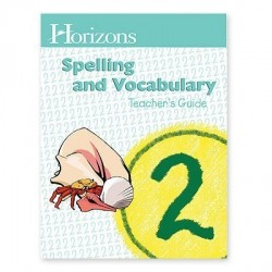 Horizons 2nd Grade Spelling and Vocabulary Teacher's Guide - Product Image
