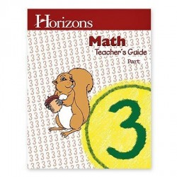 Horizons 3rd Grade Math Teacher's Guide - Product Image