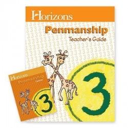 Horizons 3rd Grade Penmanship Set - Product Image