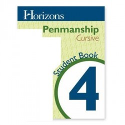Horizons 4th Grade Penmanship Student Book - Product Image