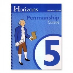 Horizons 5th Grade Penmanship Teacher's Guide - Product Image