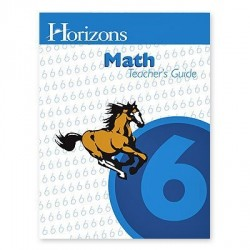 Horizons 6th Grade Math Teacher's Guide - Product Image