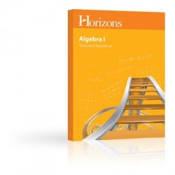 Horizons Algebra I Tests & Resources Book - Product Image
