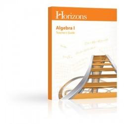 Horizons Algebra I Teacher's Guide - Product Image