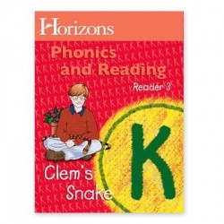 Horizons Kindergarten Phonics & Reading Reader 3: Clem's Snake - Product Image