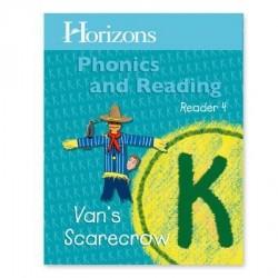 Horizons Kindergarten Phonics & Reading Reader 4: Van's Scarecrow - Product Image