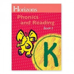 Horizons Kindergarten Phonics & Reading Student Book 3 - Product Image