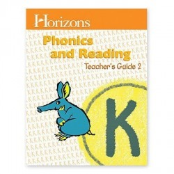 Horizons Kindergarten Phonics & Reading Teacher's Guide 2 - Product Image