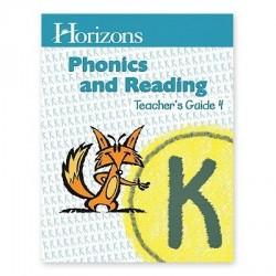 Horizons Kindergarten Phonics & Reading Teacher's Guide 4 - Product Image