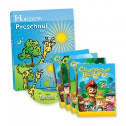 Horizons Preschool Curriculum & Multimedia Set - Product Image