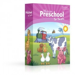 Horizons Preschool for Three's Curriculum Set - Product Image