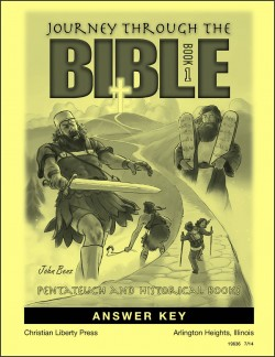Journey Through the Bible: Book 1- Pentateuch and Historical Books - Answer Key - Product Image