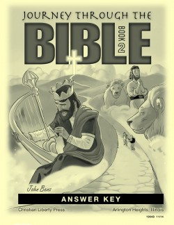 Journey Through the Bible: Book 2 - Wisdom and Prophetic Books - Answer Key - Product Image