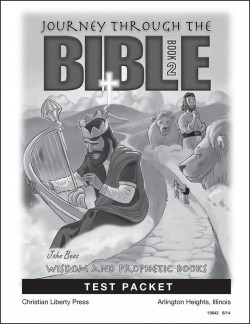 Journey Through the Bible: Book 2 - Wisdom and Prophetic Books - Tests - Product Image