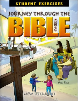Journey Through the Bible: Book 3 - New Testament - Student Exercises Workbook - Product Image