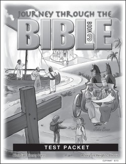 Journey Through the Bible: Book 3 - New Testament - Tests - Product Image