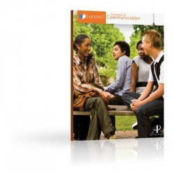 LIFEPAC Speech: Essentials of Communication Set - Product Image