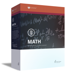 Lifepac 10th Grade Math - Product Image