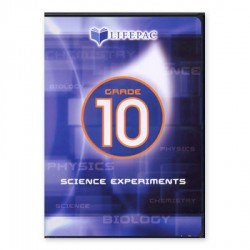Lifepac 10th Grade Science Experiments DVD - Product Image