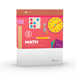 Lifepac 2nd Grade Math - Product Image