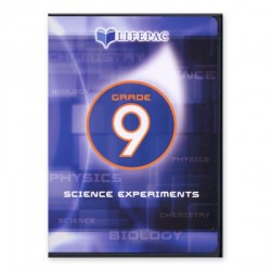 Lifepac 9th Grade Science Experiments DVD - Product Image
