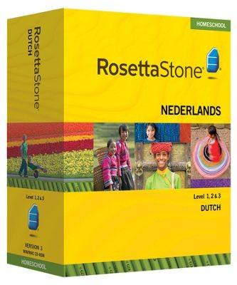 Rosetta Stone Dutch Level 1, 2 & 3 Set - Product Image