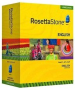 Rosetta Stone English (American) Level 1, 2, 3, 4 & 5 Set - Product Image