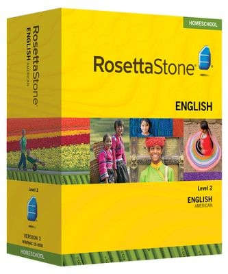 Rosetta Stone English (American) Level 2 - Product Image