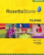 Rosetta Stone Filipino Tagalog Level 1, 2 & 3 Set - Product Image