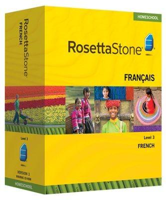 Rosetta Stone French Level 3 - Product Image
