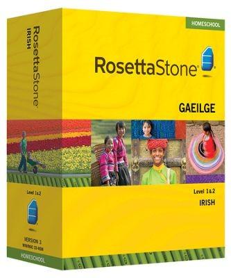 Rosetta Stone Irish Level 1 & 2 Set - Product Image