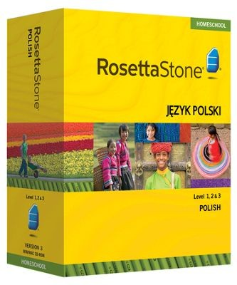 Rosetta Stone Polish Level 1, 2 & 3 Set - Product Image