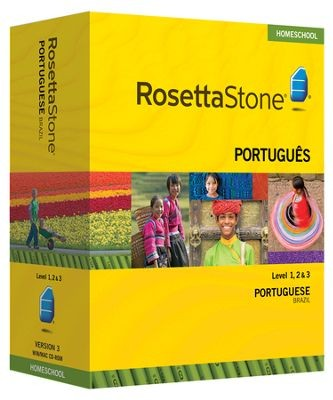 Rosetta Stone Portuguese (BR) Level 1, 2 & 3 Set - Product Image