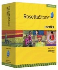 Rosetta Stone Spanish (Spain) Level 1, 2 & 3 Set - Product Image